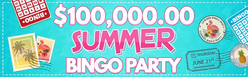Summer Bingo Party