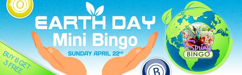 Earth Day Mini Bingo