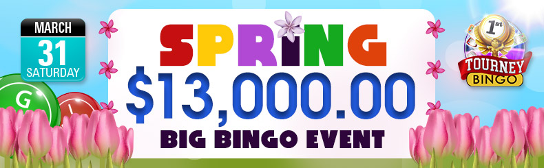 Spring Big Bingo Event