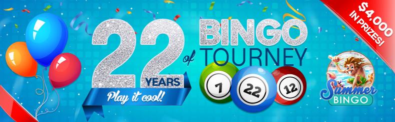 22 Years of BINGO Tourney