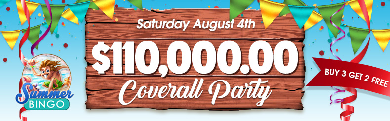 $110,000.00 Coverall Birthday Party
