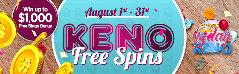 Keno Free Spins
