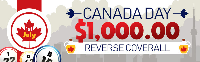 Canada Day Reverse Coverall