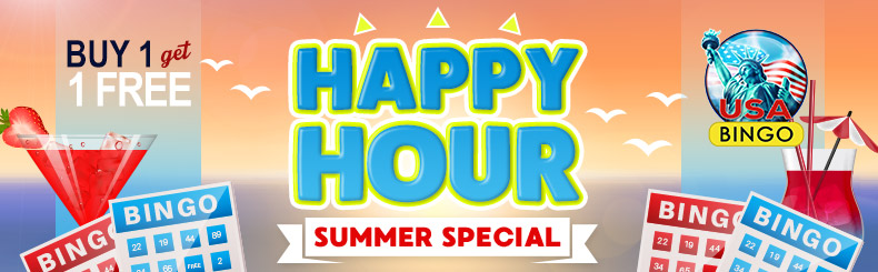 Happy Hour Summer Special