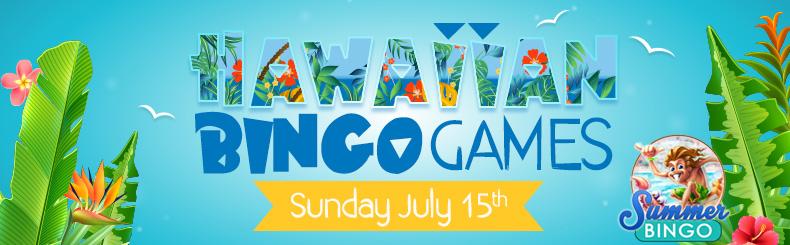 Hawaiian Bingo Party