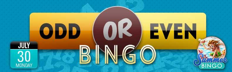 Odd or Even Bingo