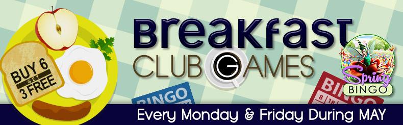 Breakfast Club Games