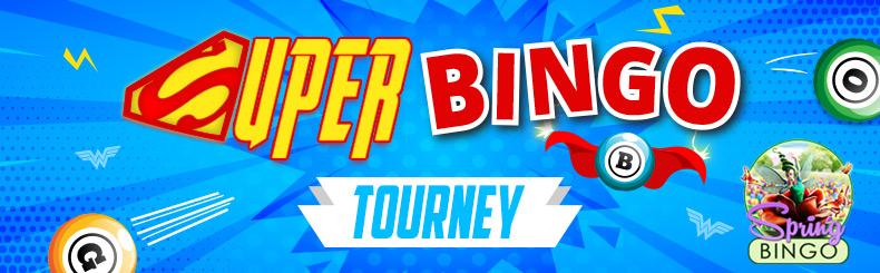Super Hero Bingo Tourney
