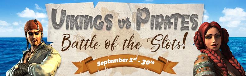 Vikings vs Pirates - Battle of the Slots!