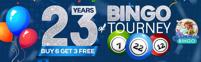 23 Years Bingo Tourney