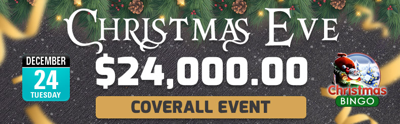 Christmas Eve Coverall Event
