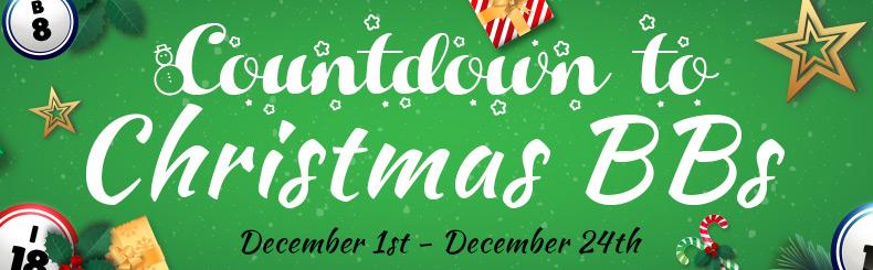 Countdown to Christmas BBs