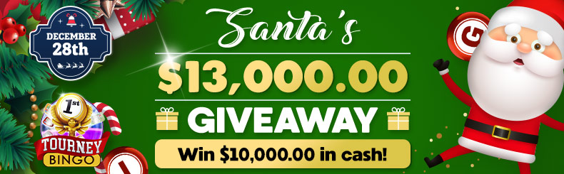 Santa's Guaranteed Big Bingo Event