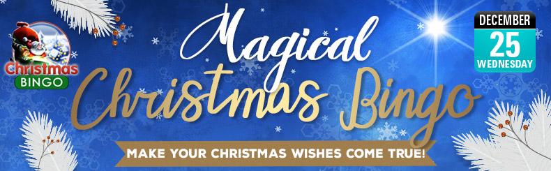 Magical Christmas Bingo