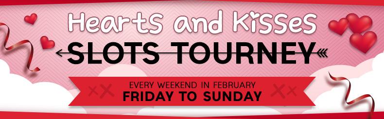 Hearts and Kisses Slots Tourney