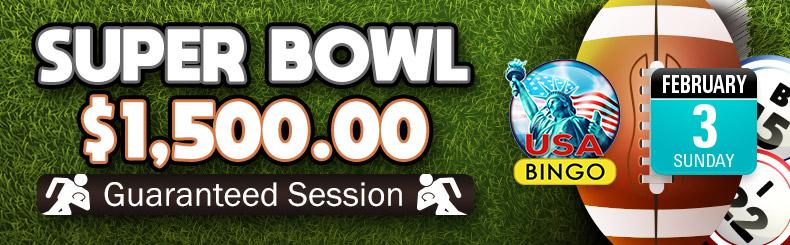 Super Bowl $1,500 Guaranteed Session