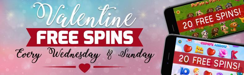 Valentine's Free Spins