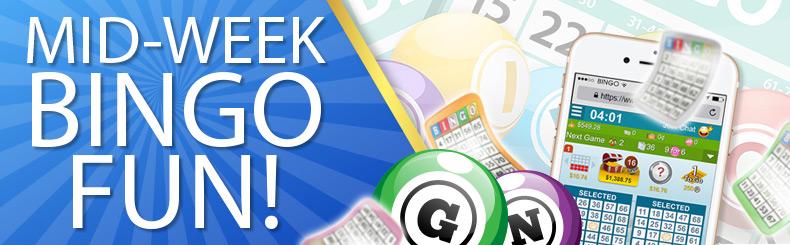 Mid-week Bingo Fun