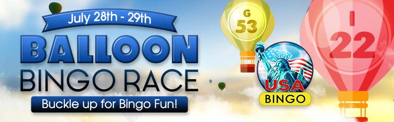 Balloon Race Bingo