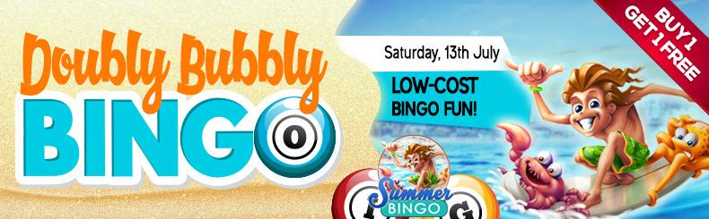 Doubly Bubbly Bingo