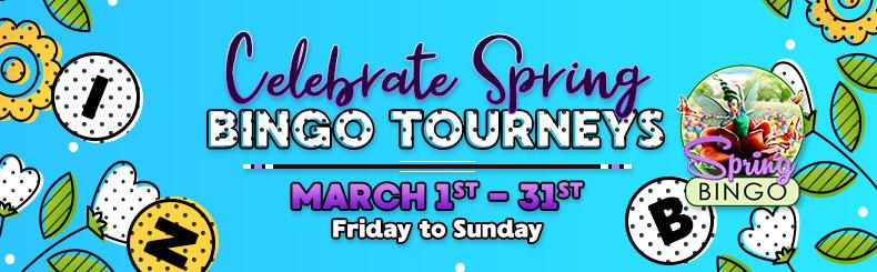 Celebrate Spring Bingo Tourney