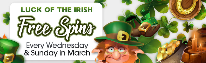 Luck of the Irish Free Spins
