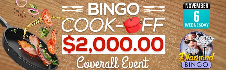 Bingo cook off Coverall Event