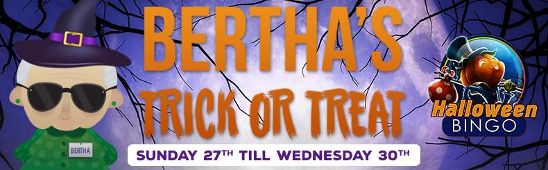 Bertha's Trick or Treat