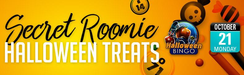 Secret Roomie Halloween Treats