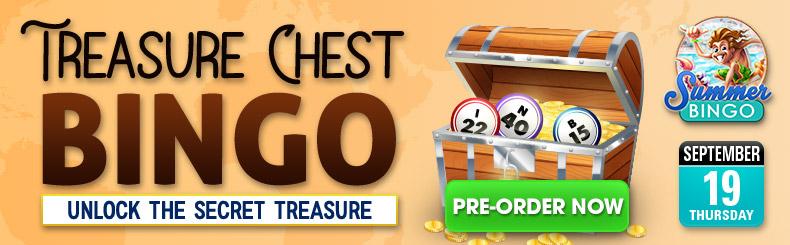 Treasure Chest Bingo