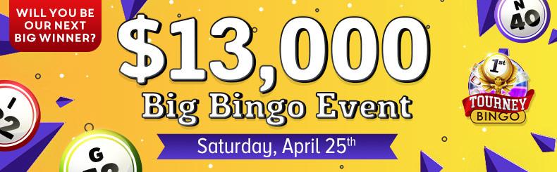 Big Bingo Event