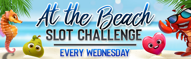 At the Beach Slot Challenge