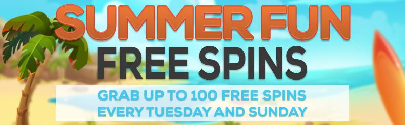 Summer Fun -  FREE Spins