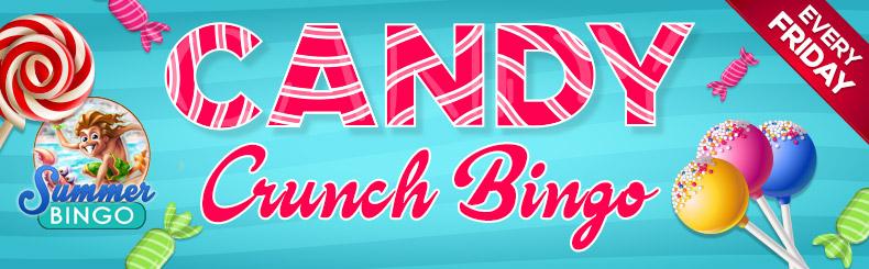 Candy Crunch Bingo