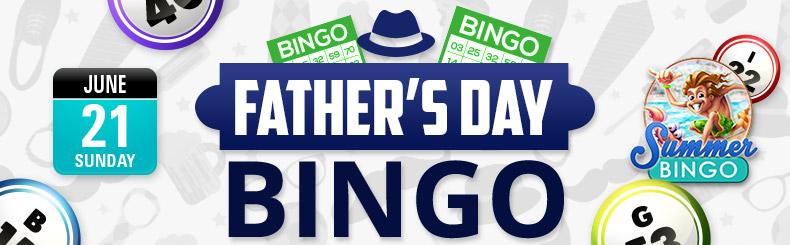 Father's Day BINGO Tourney