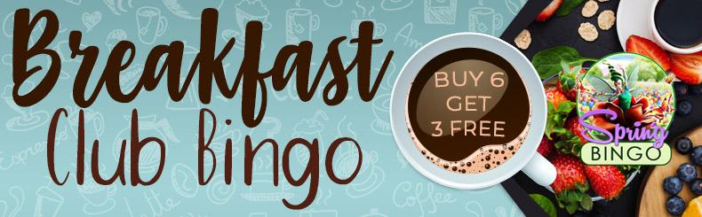 Breakfast Club Bingo