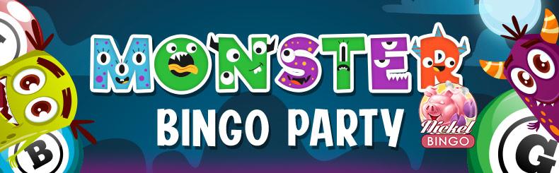 Monster Bingo Party