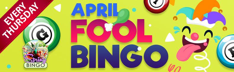April Fool BINGO