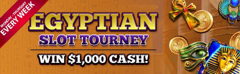 Egyptian Slot Tourney