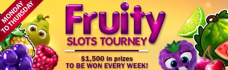 Fruity Slots Tourney