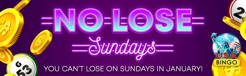No Lose Sundays