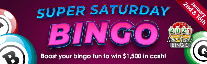 Super Saturday Bingo