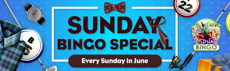 Sunday BINGO Special
