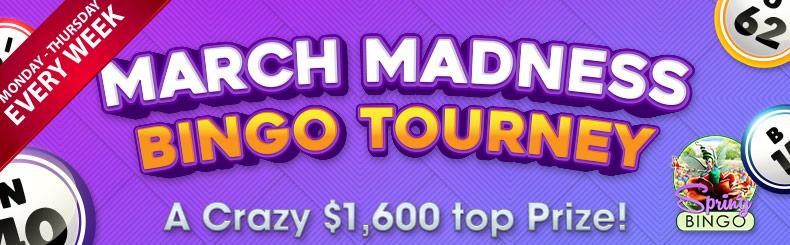 March Madness Bingo Tourney