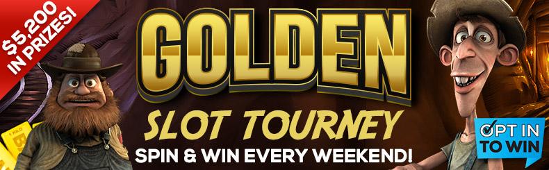 Golden Slot Tourney