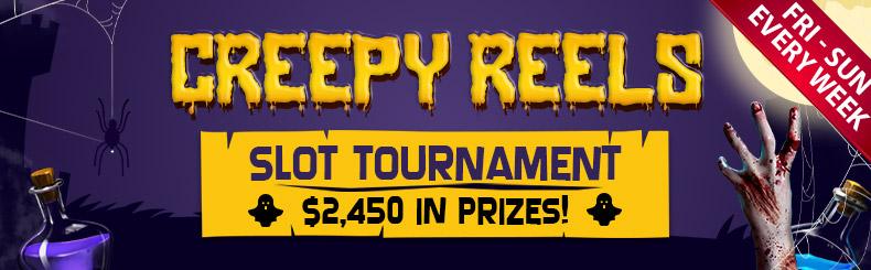 Creepy Reels Slot Tournament