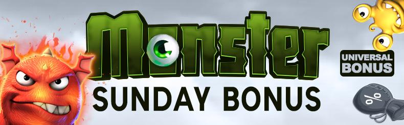 Monster Sunday Bonus