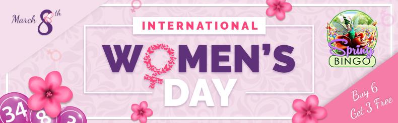 Women's Day Bingo