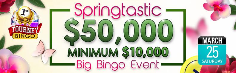 Springtastic Big Bingo Event