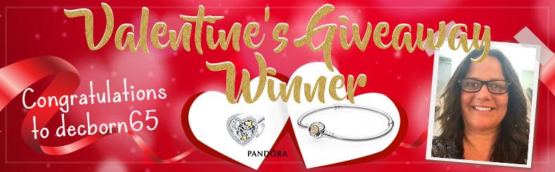 Valentine Giveaway Winner